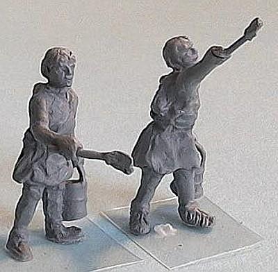 Römischer Handwerker (Maler)