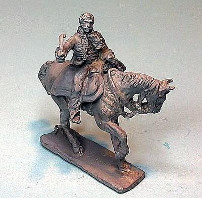 Französische Persönlichkeit General Lasalle zu Pferd (1805 - 1809)