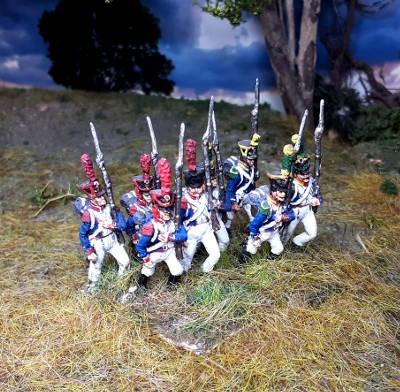 1812 - 1815: Französische Elitekompanie der Linie