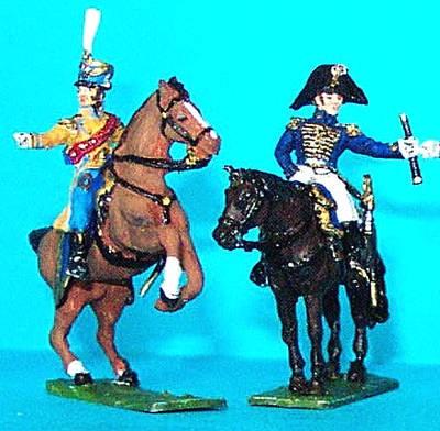 1808 - 1815: Marshall Soult mit Adjutant