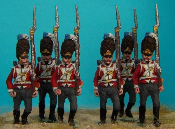Dänische Linieninfanterie - Grenadiere (1812 - 1814)