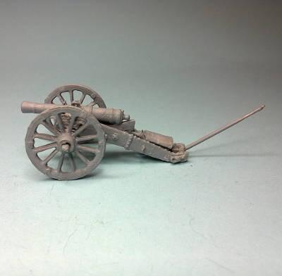 1812 - 1815: Russische 6-Pfund-Kanone (Arakacheev-System)