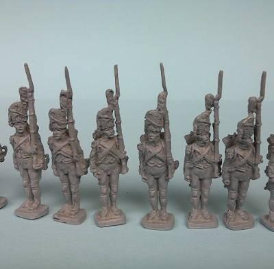 Französische Grenadiere der Alten Garde (1800 - 1815)