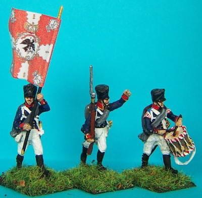 Preußische Linieninfanterie - Unteroffiziere (1813 - 1815)