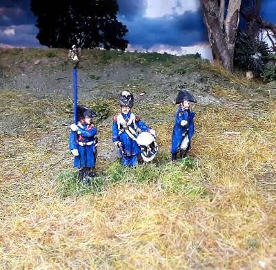 1805 - 1815: Französische Chasseurs der Alten Garde - Command Set