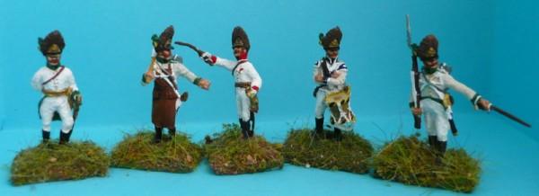 Deutsch-Österreichische Grenadiere - Command Set (1805 - 1815)