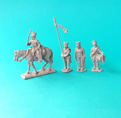 1813 - 1815: Preußische Musketiere - Command Set