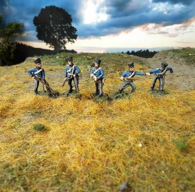 1813 - 1816: Preußische reitende Artillerie