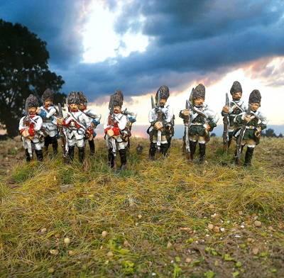 1740 - 1763: Österreichische Grenadiere (abwartend)