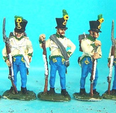 1805 - 1815: Österreichische-Ungarische Infanterie - Füsiliere (abwartend)