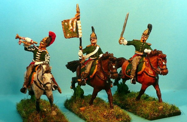 Russische Dragoner - Command Set (1812 - 1815)