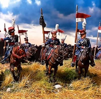 1814: Polen - Krakusen - Command -Set - leichte Kavallerie