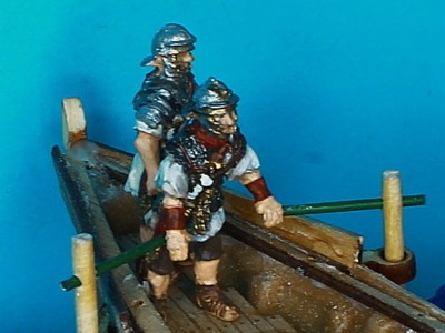 Römische Bootsbesatzung