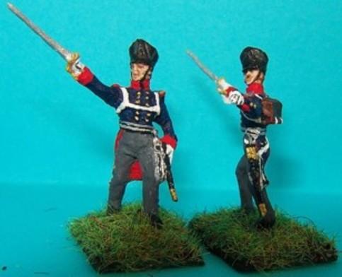 Preußische Linieninfanterie - Offiziere (1813 - 1815)
