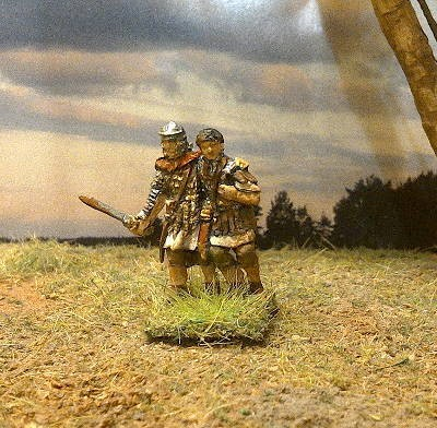 Römischer verwundeter Legionär (2 AD)