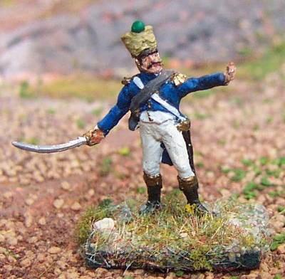 Französischer Voltigeur - Offizier