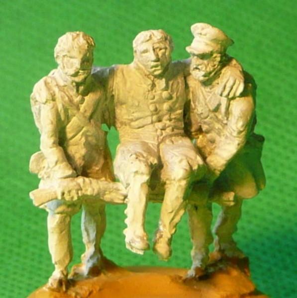 Preußische Landwehr-Soldaten (1813 - 1815)