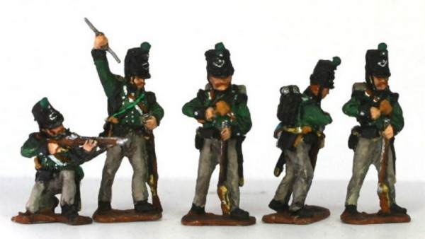 King German Legion (1815) im Kampf
