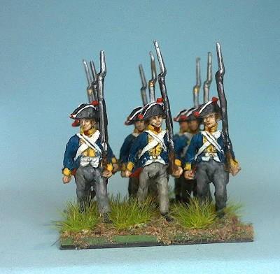 Preußische Musketiere (Napoleonische Feldzüge 1806 - 1807)