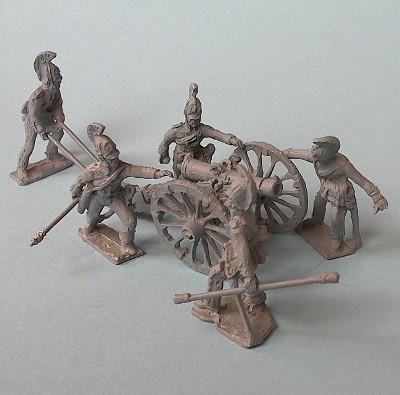 Russische Reitende Artillerie inkl. 12-Pfund-Kanone (1812 - 1815)