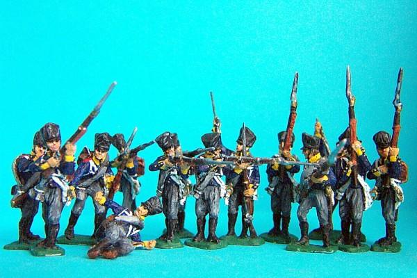 Preußische Linieninfanterie (im Gefecht)