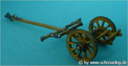 Österreichische Protze für die 3-Pfund und 6-Pfund-Kanone (1750 - 1815)