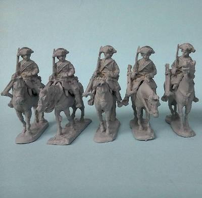 Preußische Kürassiere - Mannschaft (1740 - 1763)