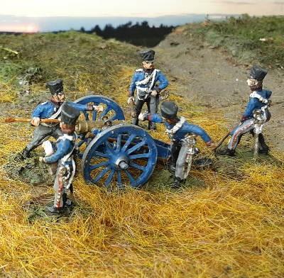 1813 - 1815: Preußische reitende Artillerie inkl. 7-Pfund-Haubitze
