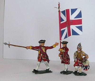 Britische Füsiliere - Command Set