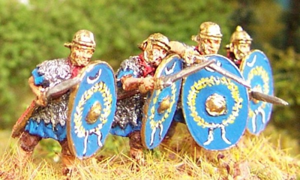 Römische Auxiliar-Infanteristen