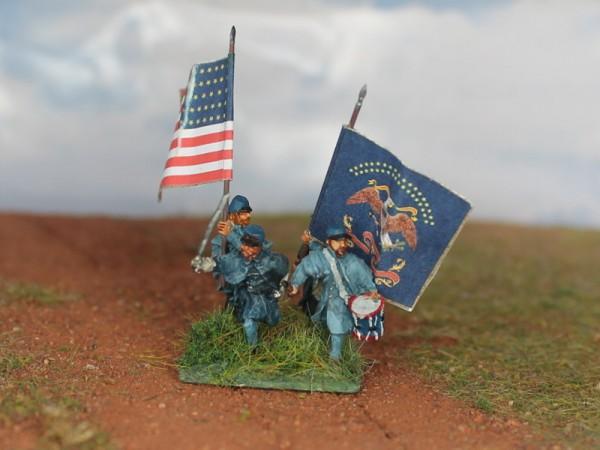 U.S../C.S.A-Infanterie - Command Set