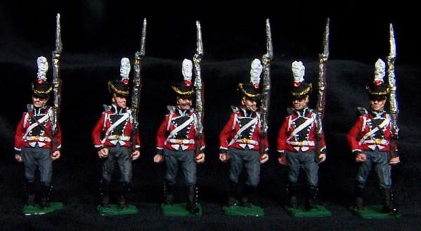 Danische Linieninfanterie - Füsiliere (1812 - 1814)